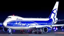 Air Bridge Cargo Boeing 747-8F visited Helsinki title=