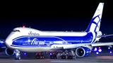 Air Bridge Cargo Boeing 747-8F visited Helsinki
