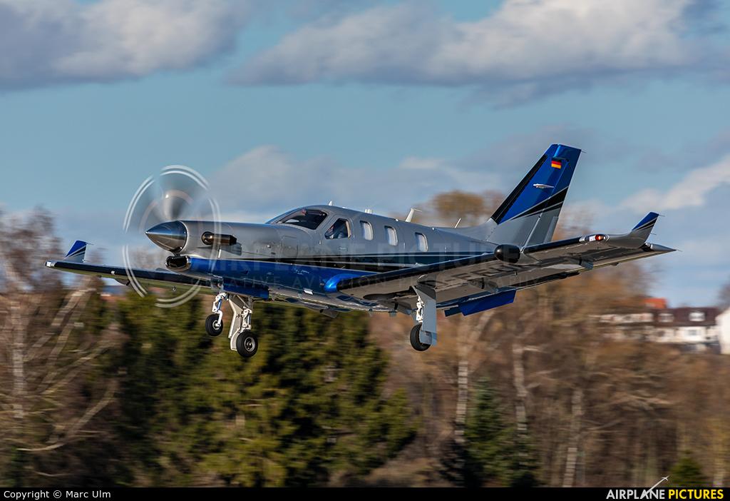 Private D-FFUN aircraft at Augsburg
