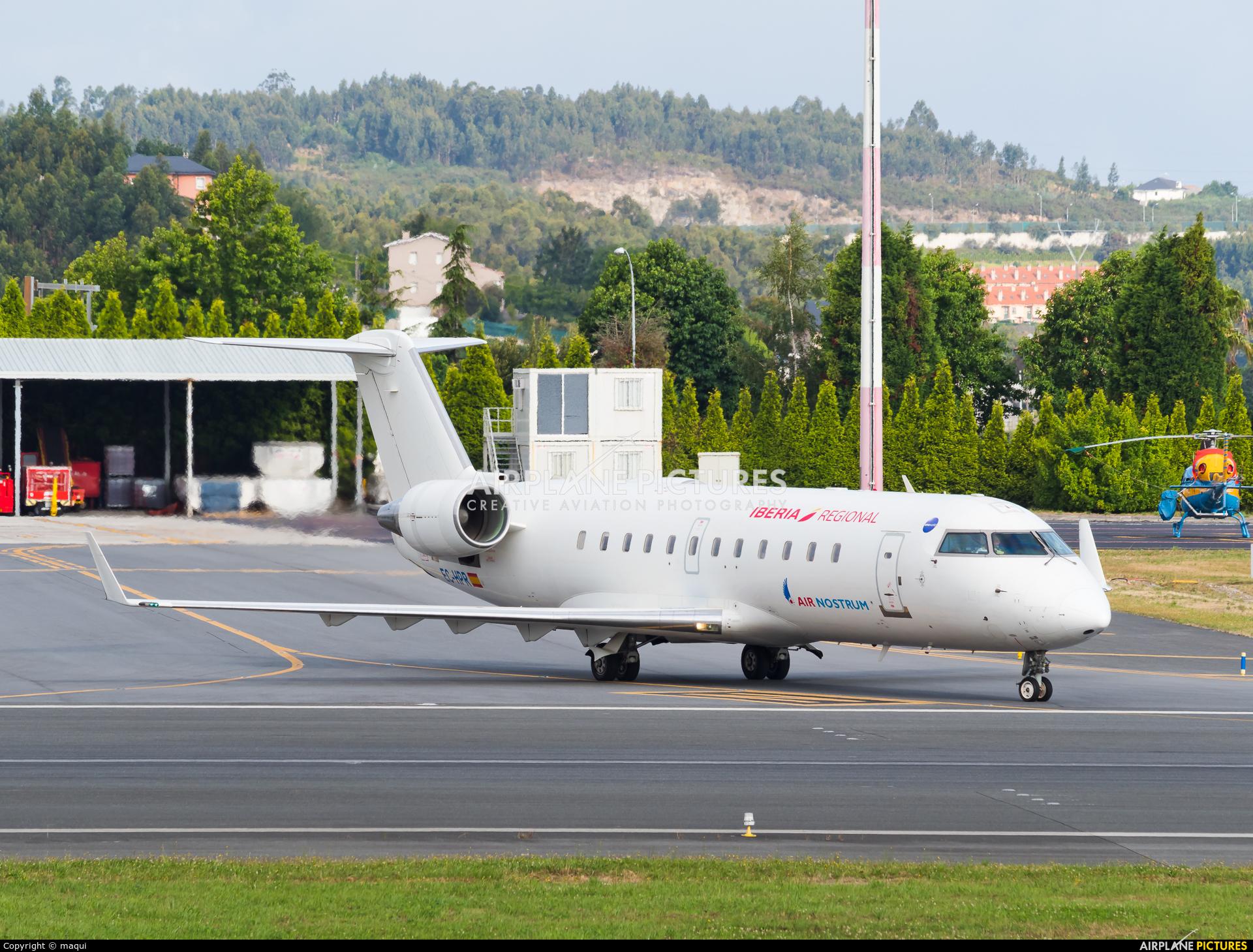 Air Nostrum - Iberia Regional EC-HPR aircraft at La Coruña