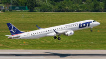 SP-LNF - LOT - Polish Airlines Embraer ERJ-195 (190-200) aircraft