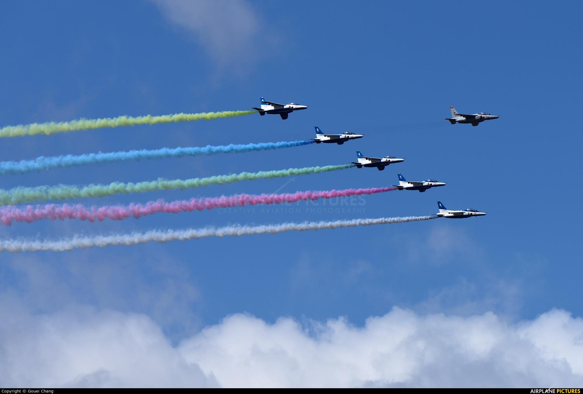 Japan - ASDF: Blue Impulse - aircraft at Matsushima AB