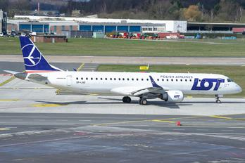 SP-LND - LOT - Polish Airlines Embraer ERJ-195 (190-200)