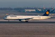 D-AIDE - Lufthansa Airbus A321 aircraft