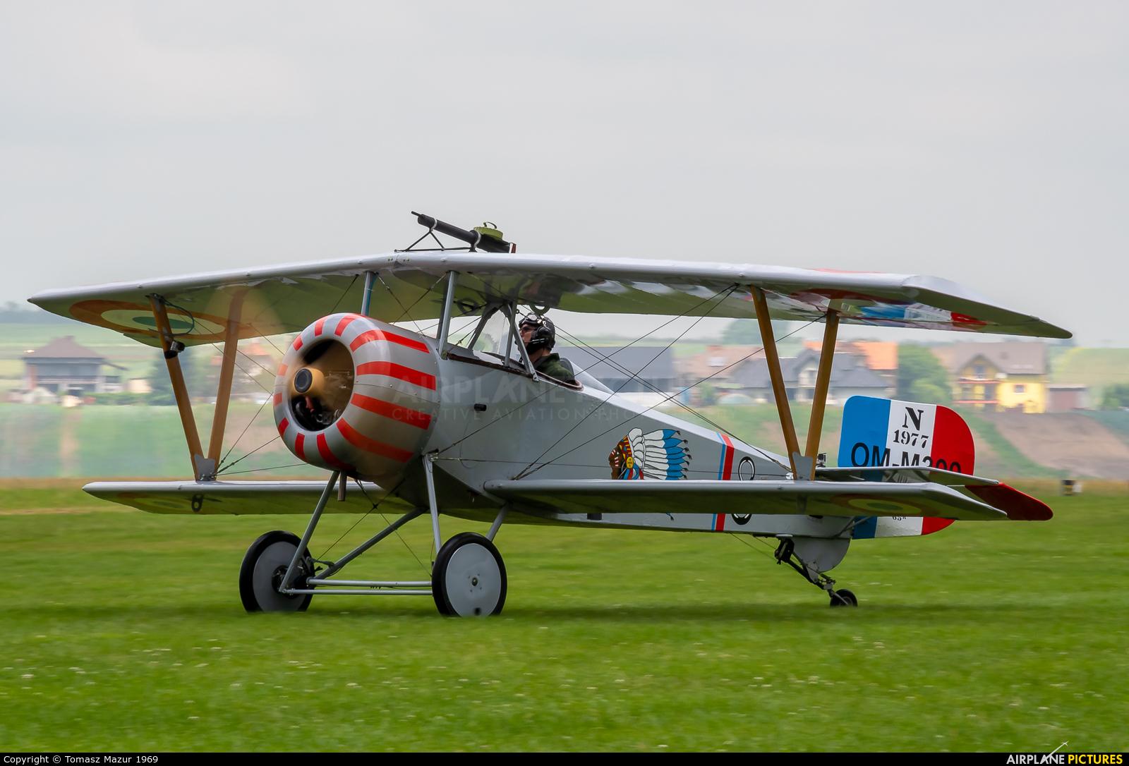 Private OM-M300 aircraft at Kraków - Pobiednik Wielki