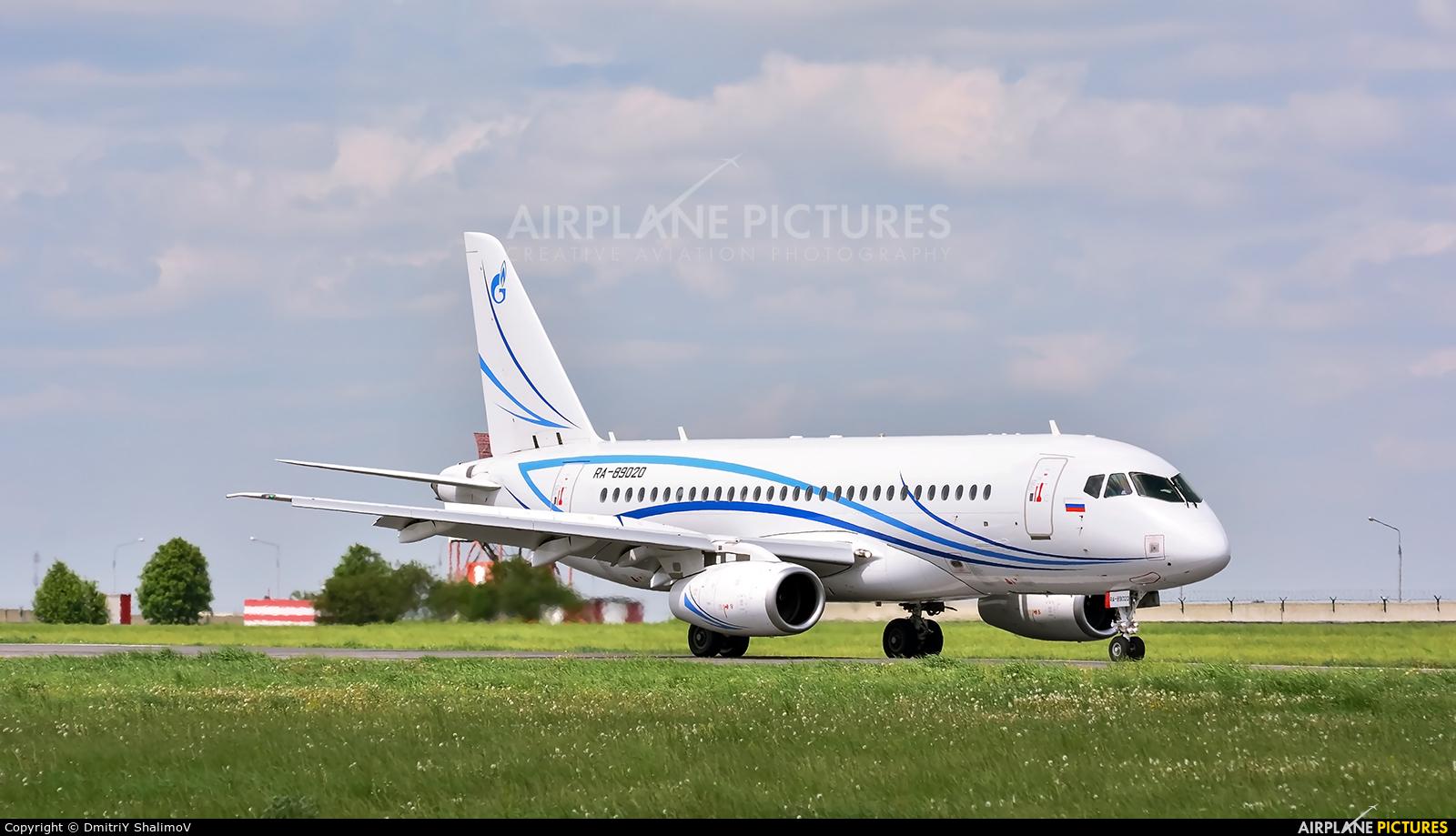 Gazpromavia RA-89020 aircraft at Belgorod Intl