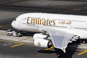 A6-EEM - Emirates Airlines Airbus A380 aircraft