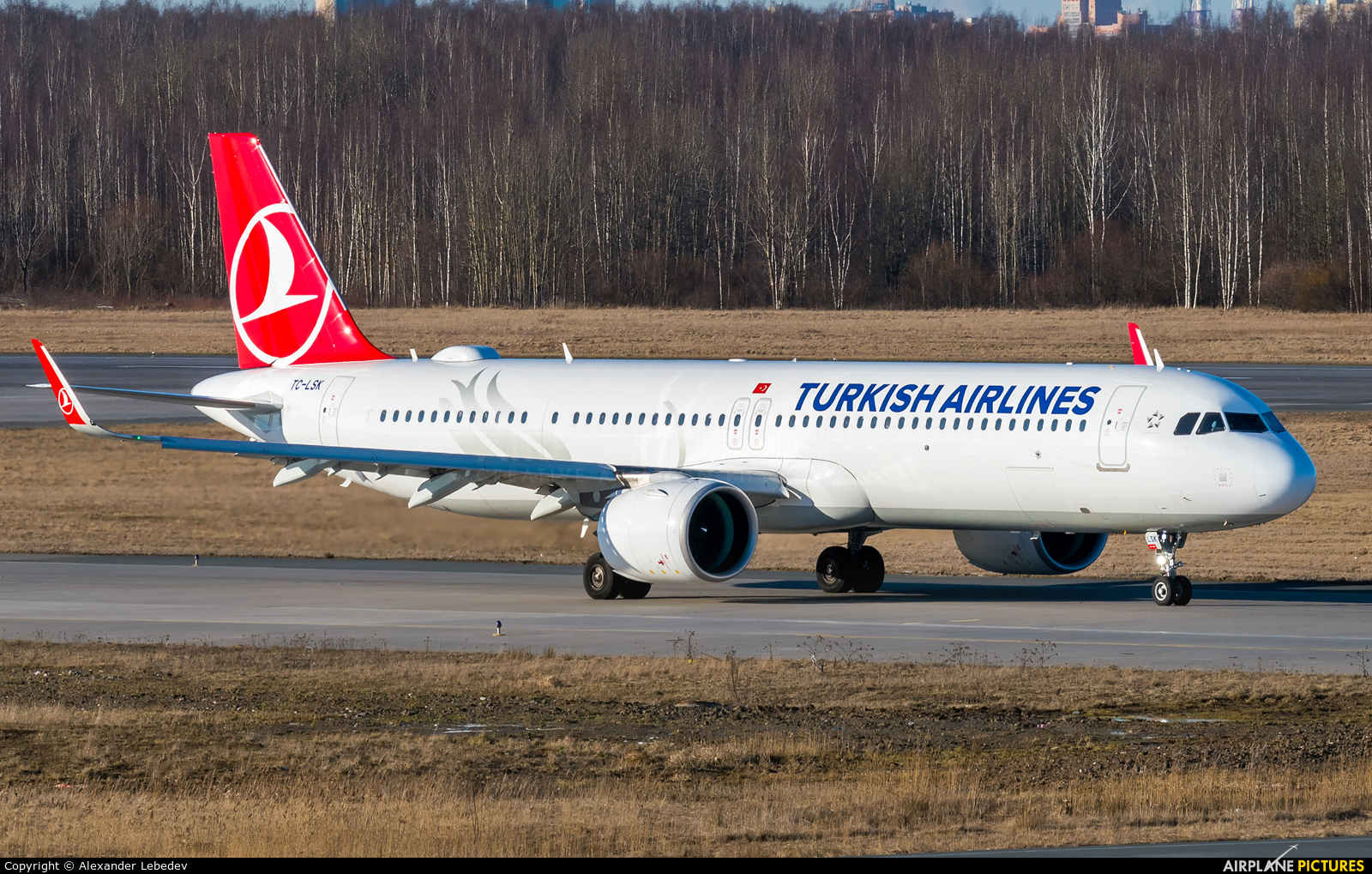 Turkish Airlines TC-LSK aircraft at St. Petersburg - Pulkovo