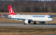 TC-LSK - Turkish Airlines Airbus A321 NEO aircraft