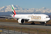 A6-EGX - Emirates Airlines Boeing 777-300ER aircraft