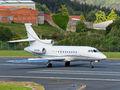 Xclusive Jet Charter Dassault Falcon 900 series G-FLCN at La Coruña airport