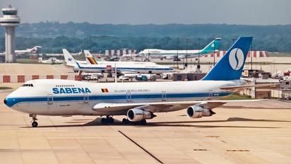 OO-SGA - Sabena Boeing 747-100