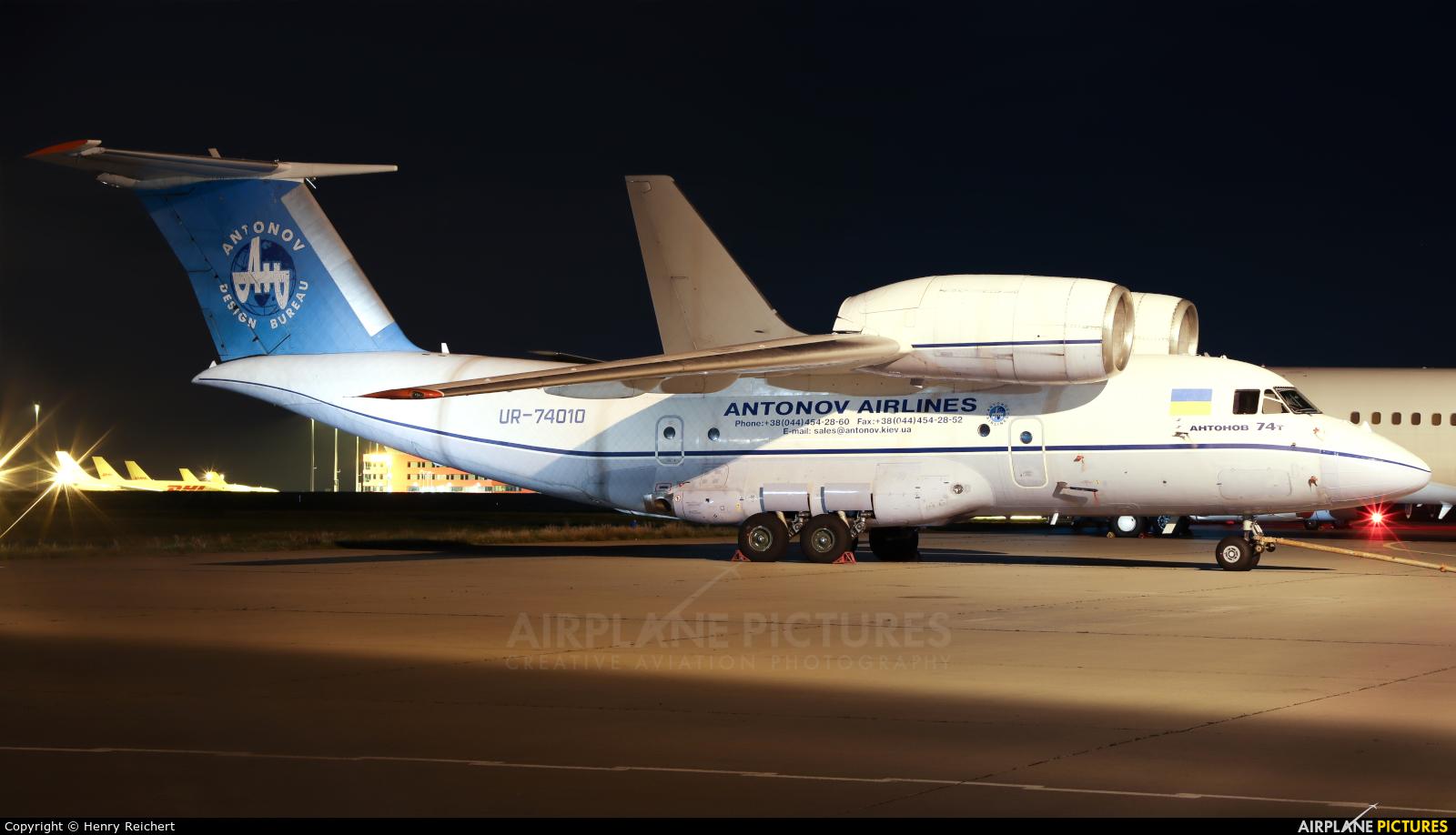 Antonov Airlines /  Design Bureau UR-74010 aircraft at Leipzig - Halle