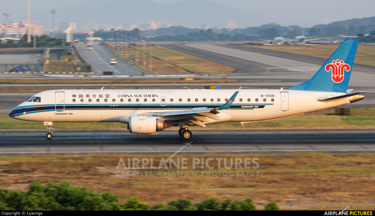 China Southern Airlines B-3138 aircraft at Guangzhou - Baiyun