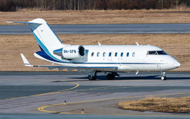 9H-SPB - Private Bombardier CL-600-2B16 Challenger 604