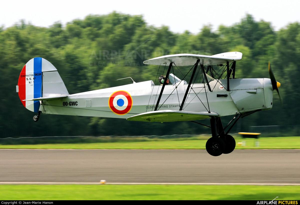 Private OO-GWC aircraft at Spa - La Sauveniere
