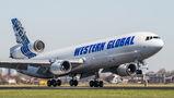 Western Global MD-11F visited Amsterdam