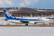 JA02AN - ANA - All Nippon Airways Boeing 737-700 aircraft