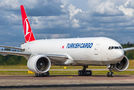 Turkish Cargo Boeing 777F TC-LJN at Helsinki - Vantaa airport