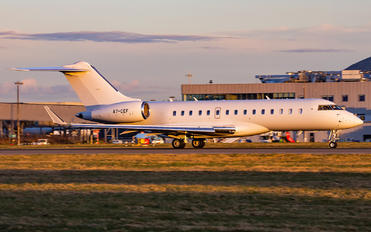 A7-CEF - Qatar Executive Bombardier BD-700 Global Express