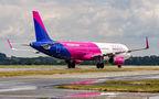 Wizz Air Airbus A321 HA-LXM at Kraków - John Paul II Intl airport