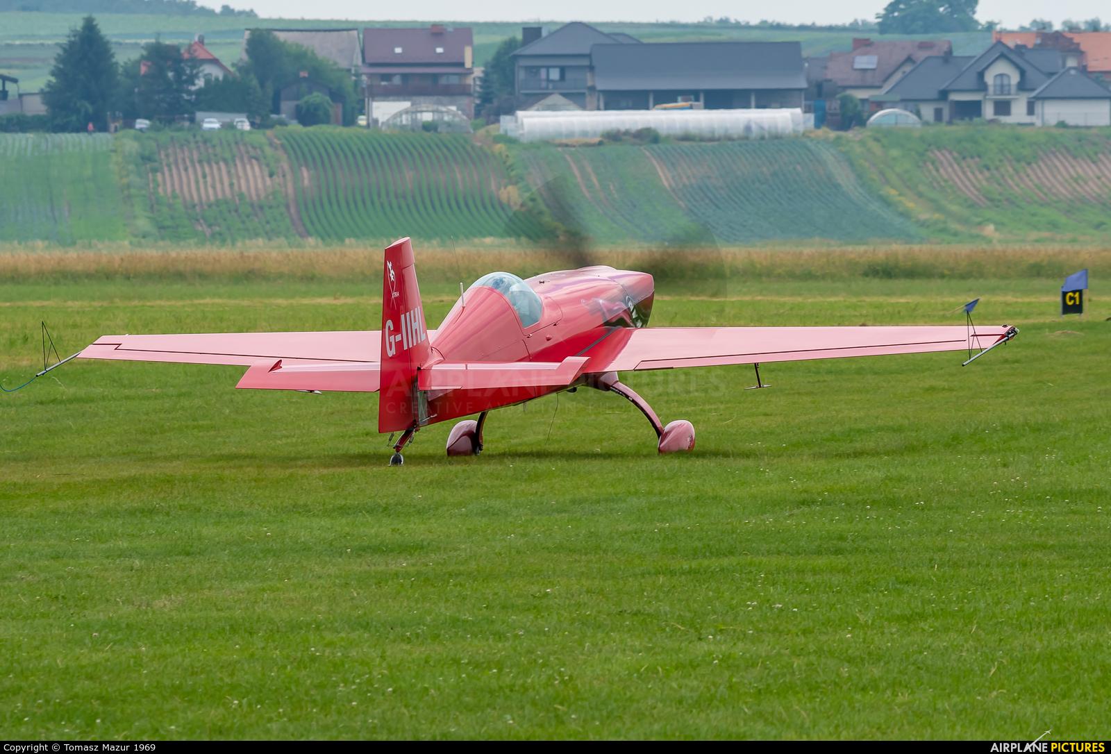 Private G-IIHL aircraft at Kraków - Pobiednik Wielki