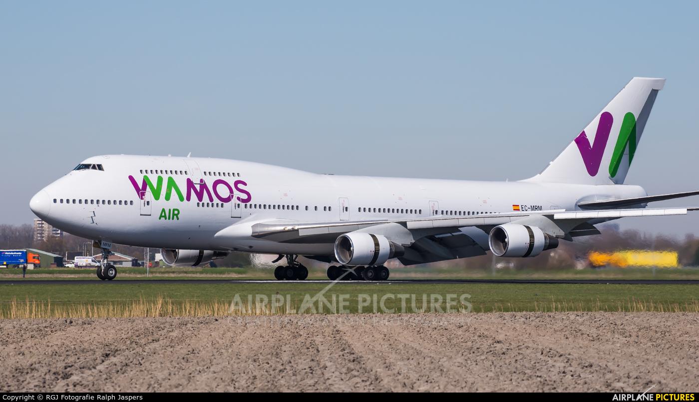 Wamos Air EC-MRM aircraft at Amsterdam - Schiphol