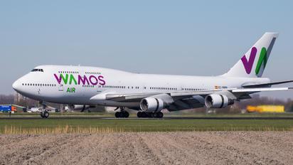 EC-MRM - Wamos Air Boeing 747-400