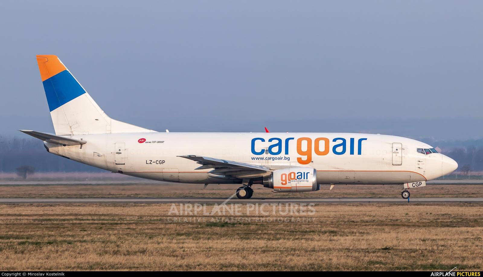 Cargo Air LZ-CGP aircraft at Ostrava Mošnov