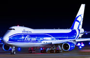 VP-BBL - Air Bridge Cargo Boeing 747-8F aircraft