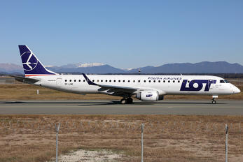 SP-LNE - LOT - Polish Airlines Embraer ERJ-195 (190-200)