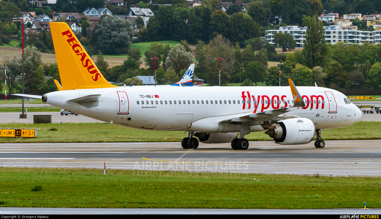 Pegasus TC-NBJ aircraft at Zurich