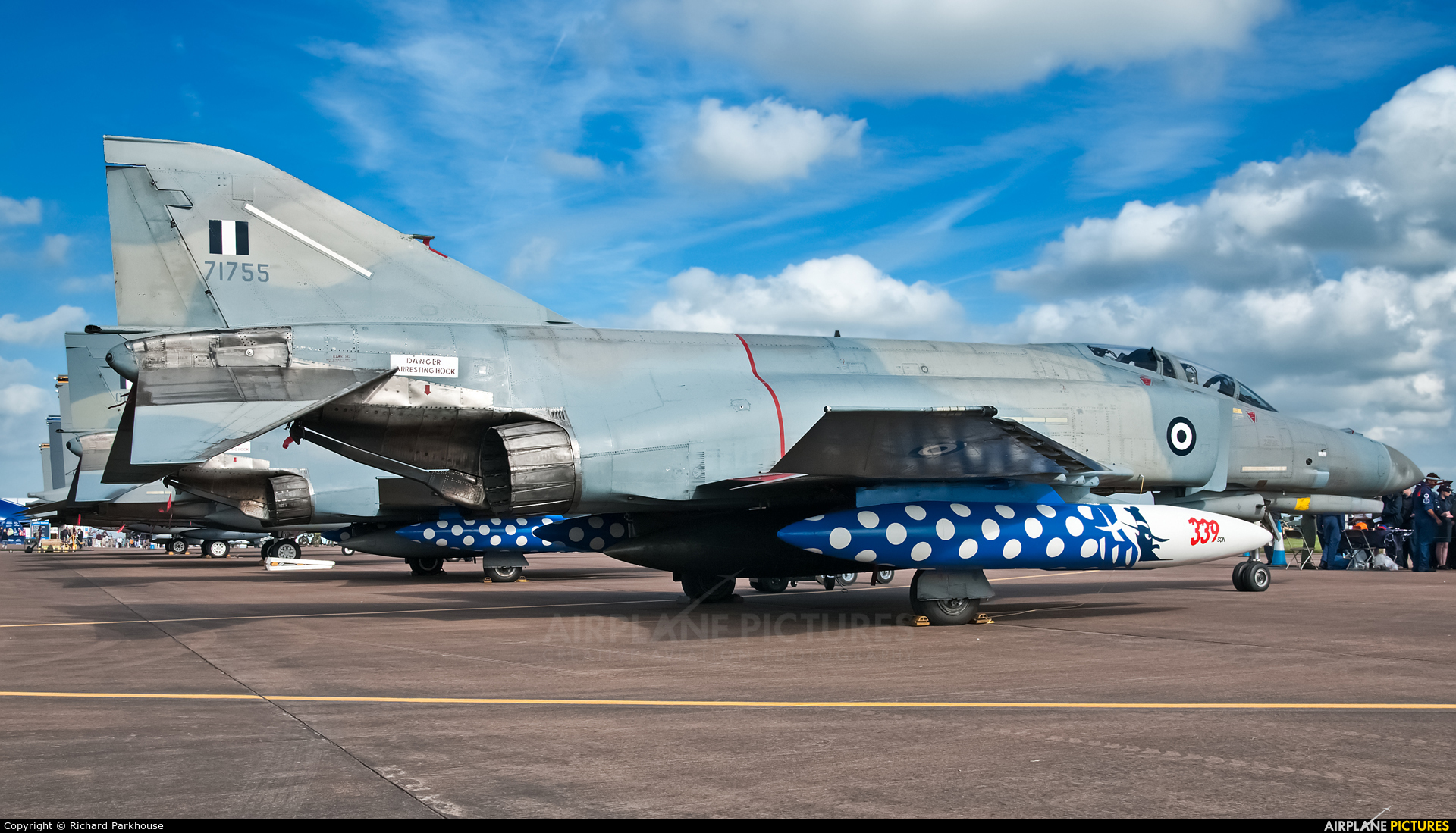 Greece - Hellenic Air Force 71755 aircraft at Fairford