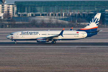 TC-SEZ - SunExpress Boeing 737-800
