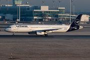 D-AIDB - Lufthansa Airbus A321 aircraft