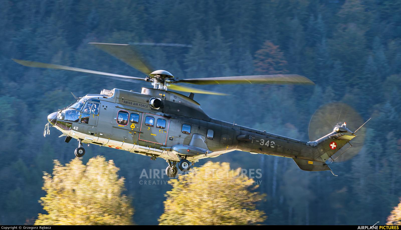 Switzerland - Air Force T-342 aircraft at Meiringen