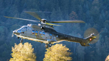 T-342 - Switzerland - Air Force Aerospatiale AS532 Cougar