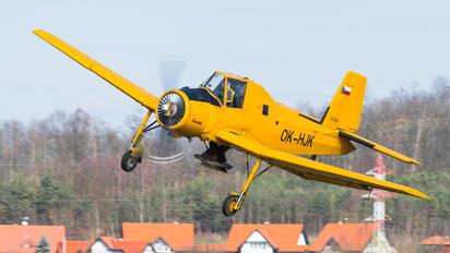 OK-HJK - Agroair Zlín Aircraft Z-37A Čmelák