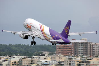 HS-TXC - Thai Airways Airbus A320