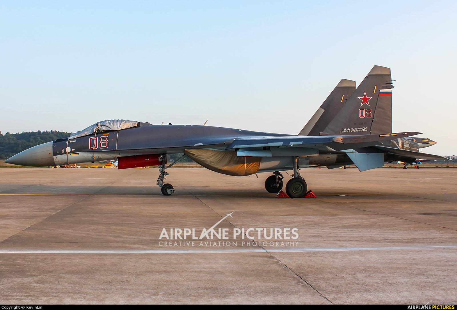 Russia - Air Force RF-93648 aircraft at Zhūhǎi-Jīnwān