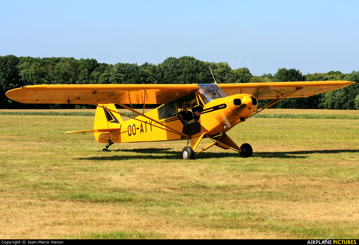 Aero Club Brasschaat OO-ATY aircraft at Diest Schaffen