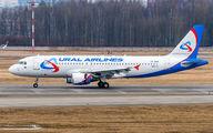 VP-BQW - Ural Airlines Airbus A320 aircraft