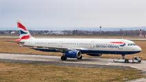 G-MEDU - British Airways Airbus A321 aircraft