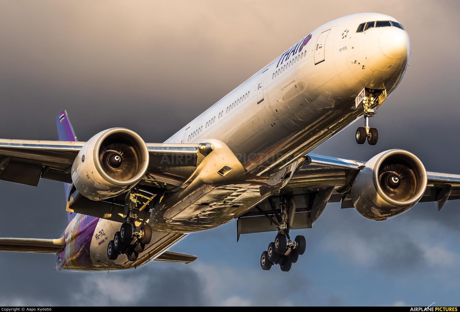 Thai Airways HS-TKZ aircraft at London - Heathrow