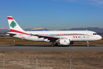 T7-MRC - MEA - Middle East Airlines Airbus A320