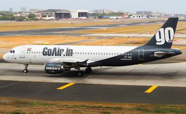 VT-GOK - Go Air Airbus A320