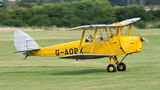 Private de Havilland DH. 82 Tiger Moth G-AOBX at Old Warden airport