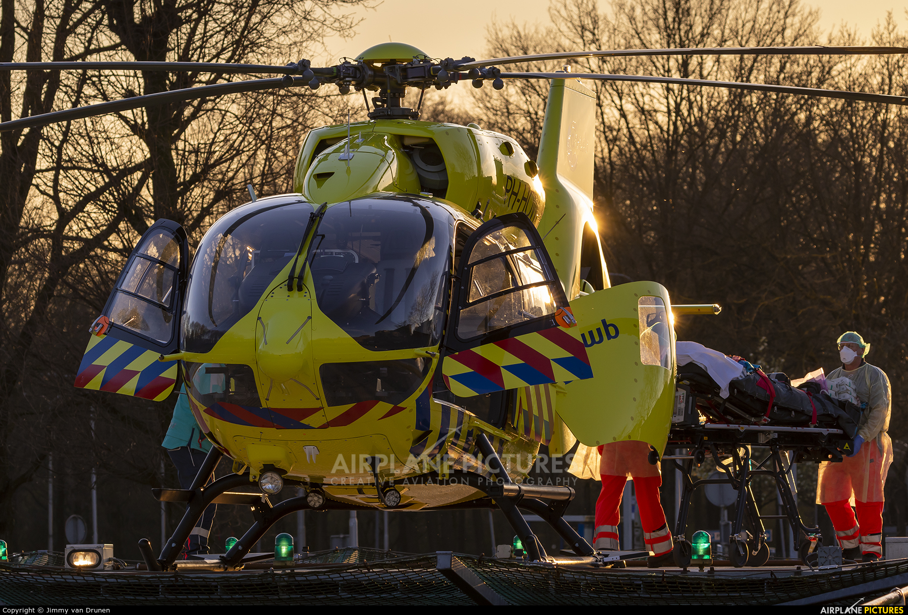 ANWB Medical Air Assistance PH-HOW aircraft at Off Airport - Netherlands