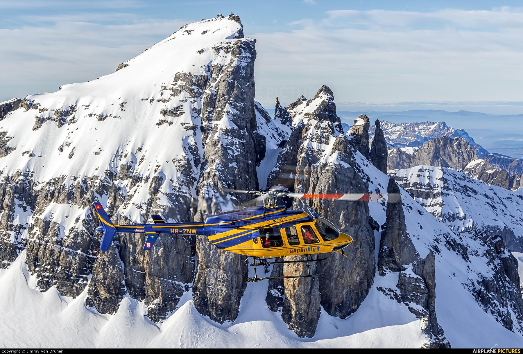 Alpinlift HB-ZNW aircraft at In Flight - Switzerland