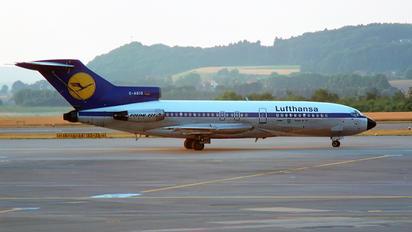 D-ABIO - Lufthansa Boeing 727-100